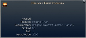 Helian\'s Trust Formula Istaria Lexica :: Your resource for Istaria ...